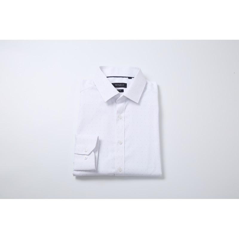 Koszula do garnituru biała repablo