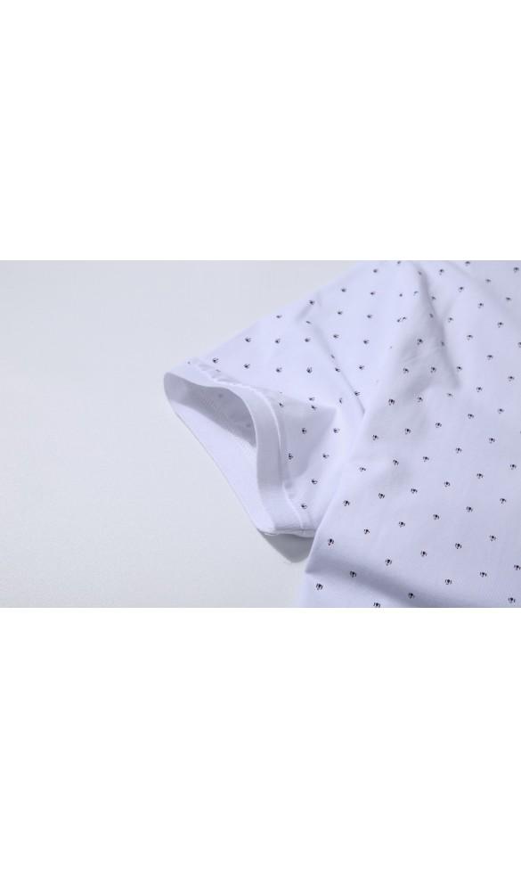 Polo męskie Walery białe