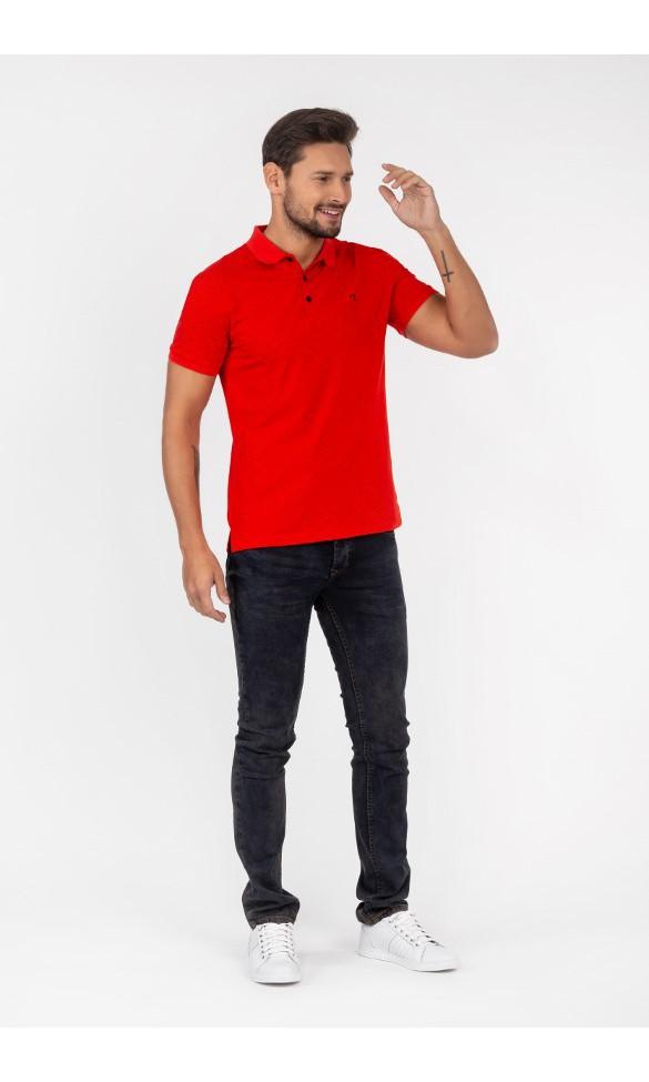 Polo męskie Walery czerwone