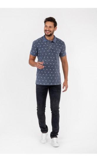 Polo męskie Sylwester jeansowe