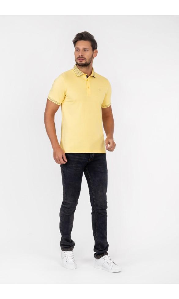 Polo męskie Tymoteusz żółte