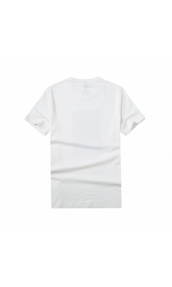 T-shirt męski Samuel biały