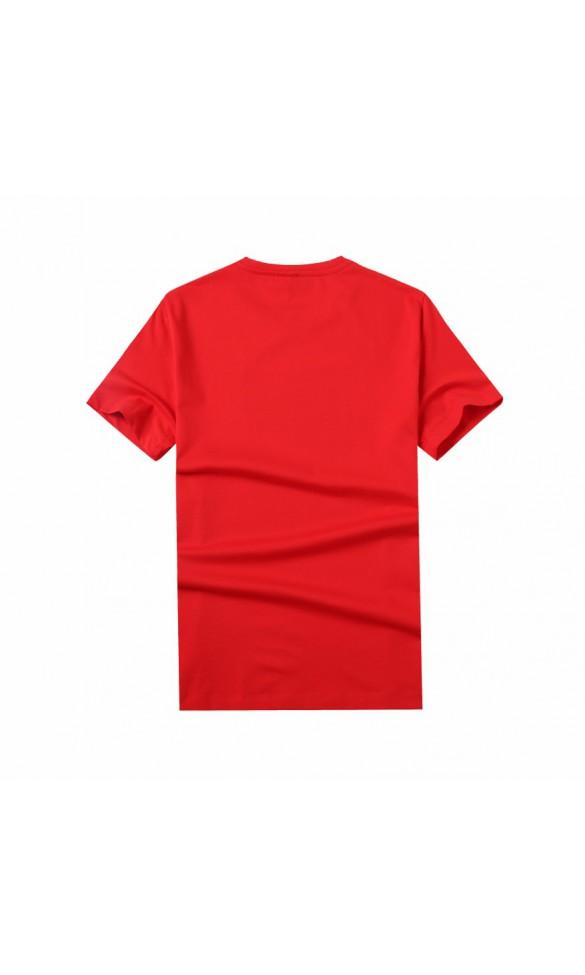 T-shirt męski Samuel czerwony