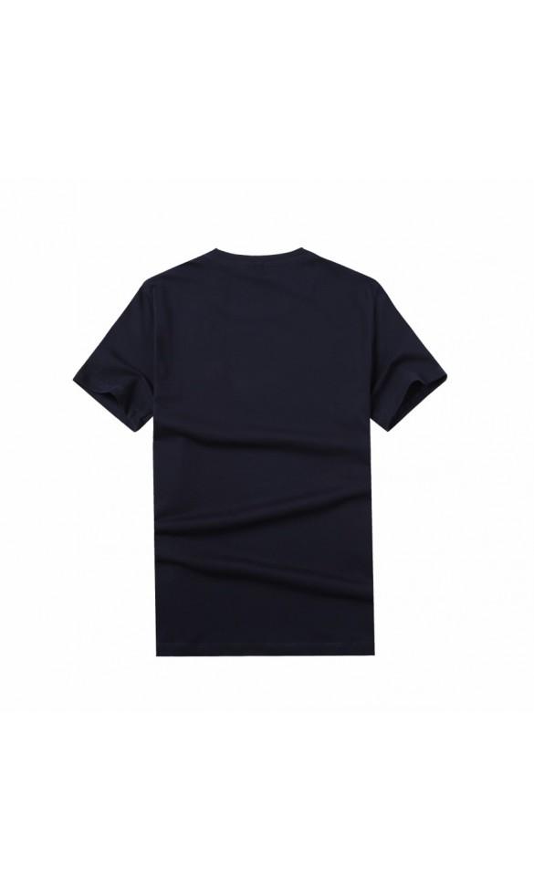 T-shirt męski Sebastian granatowy