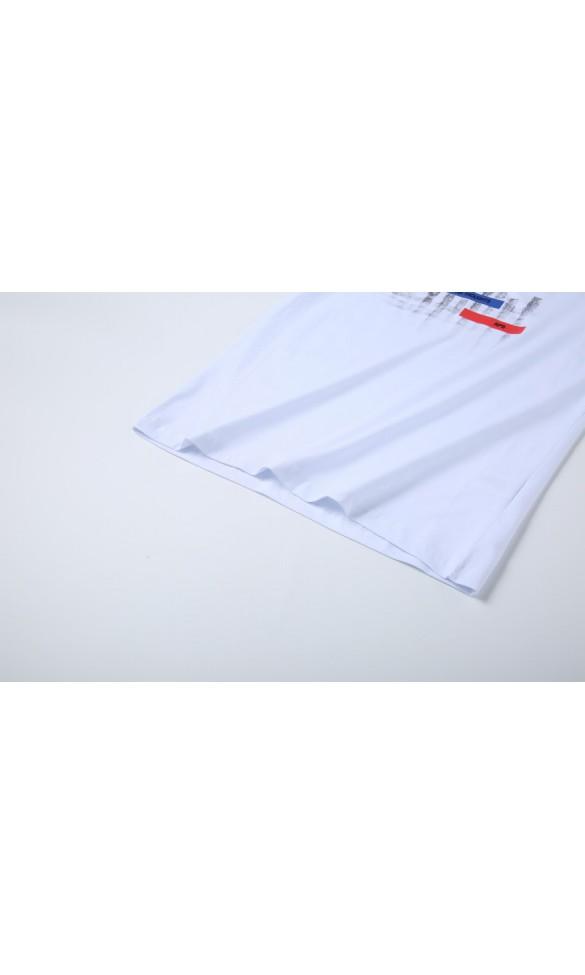 T-shirt męski Sebastian biały