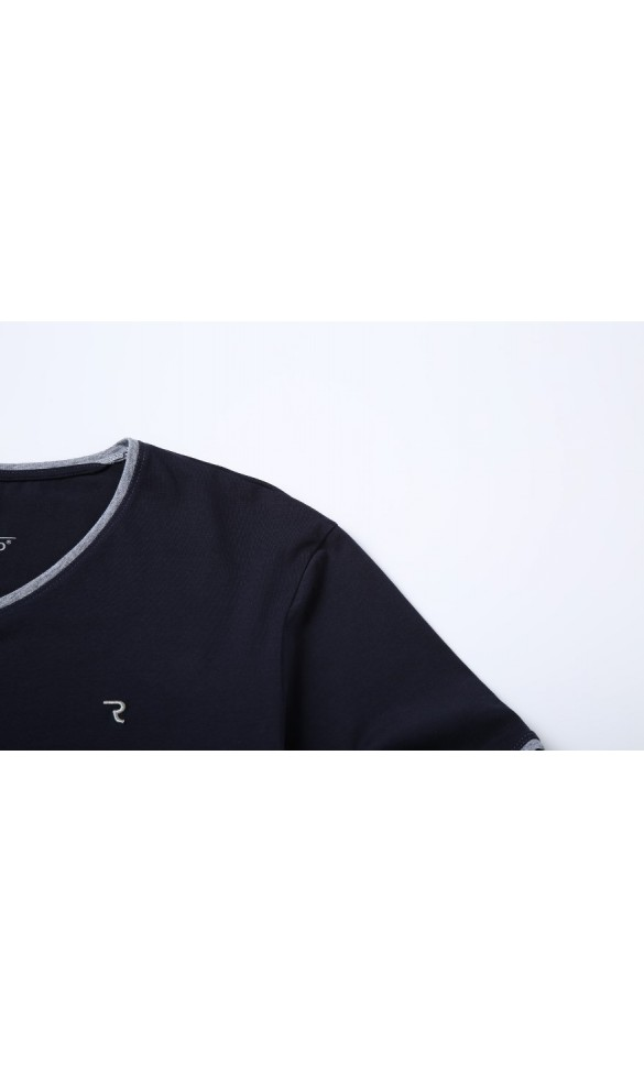 T-shirt męski Rafał granatowy
