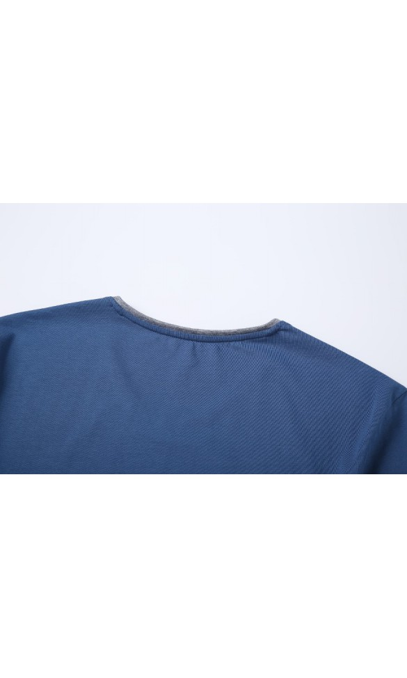 T-shirt męski Rafał jeansowy