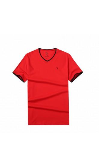 T-shirt męski Rafał czerwony