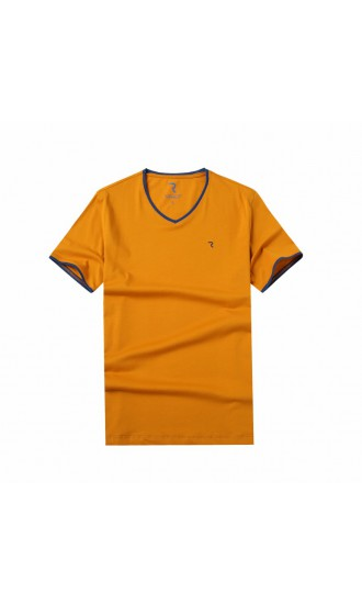T-shirt męski Rafał pomarańczowy