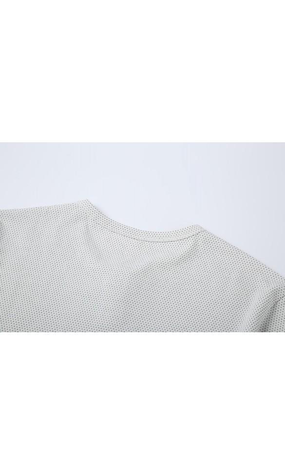 T-shirt męski Wincenty biały