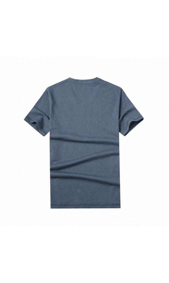T-shirt męski Błażej jeansowy