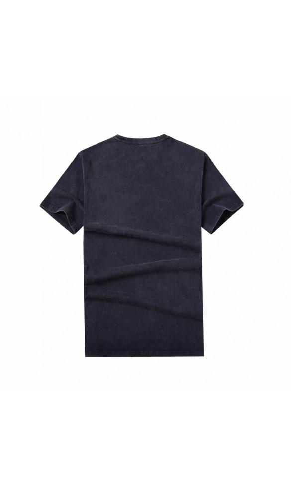 T-shirt męski Wacław granatowy