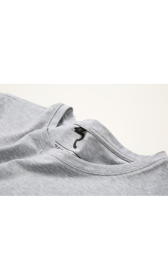 T-shirt męski Filip jasno szary