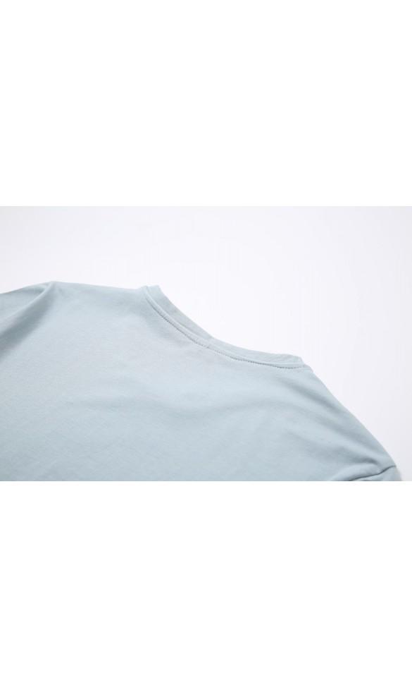 T-shirt męski Filip błękitny