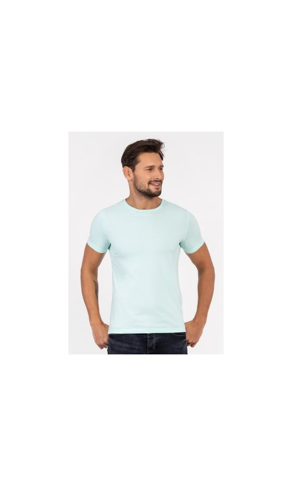 T-shirt męski Filip miętowy