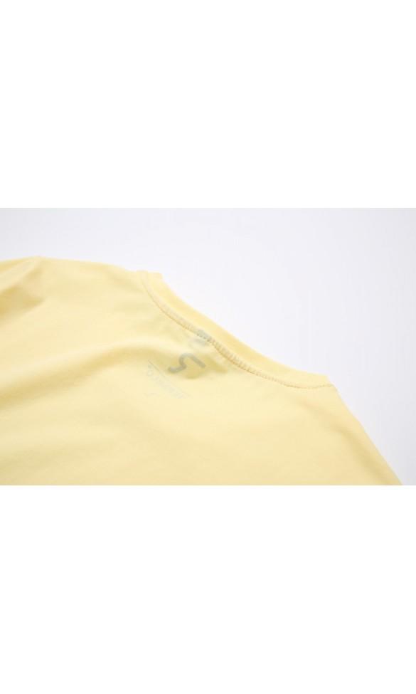 T-shirt męski Filip pastelowy żółty