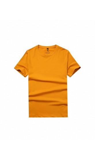 T-shirt męski Filip pomarańczowy