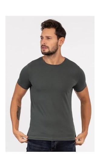 T-shirt męski Filip oliwkowy