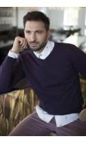 Sweter męski Serge Fiolet