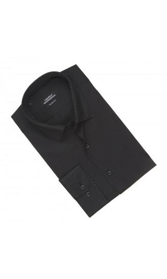 Koszula męska David czarna