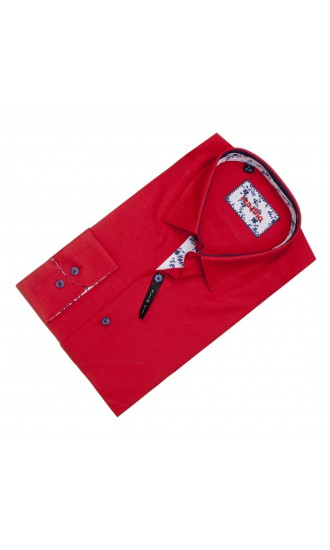 Koszula Mateusz czerwona