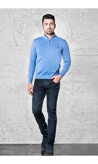 Sweter meski Emilio Niebieski