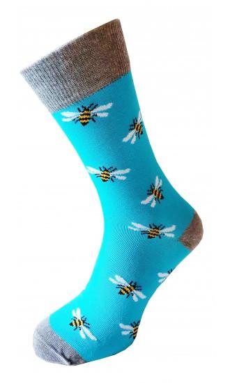 Skarpety Pszczoły