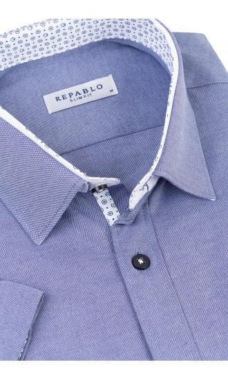 Koszula Aldo niebieska