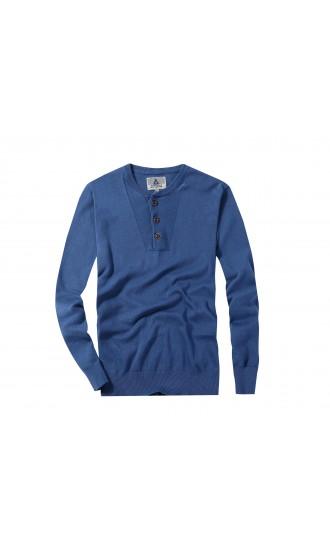 Sweter męski Luca Niebieski