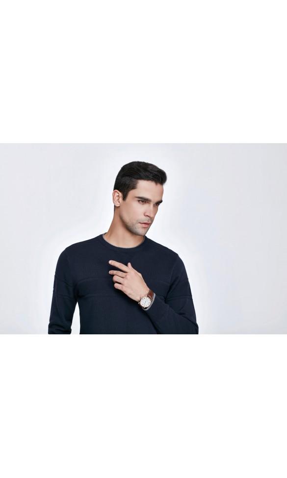 Sweter męski Simon Granatowy
