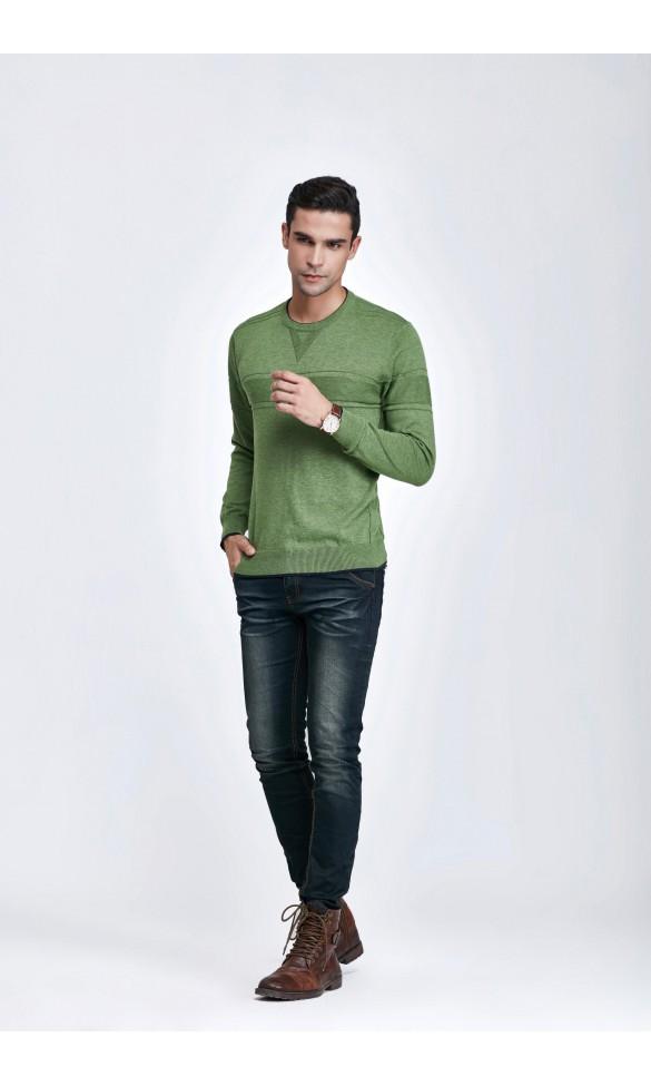 Sweter męski Simon Zielony