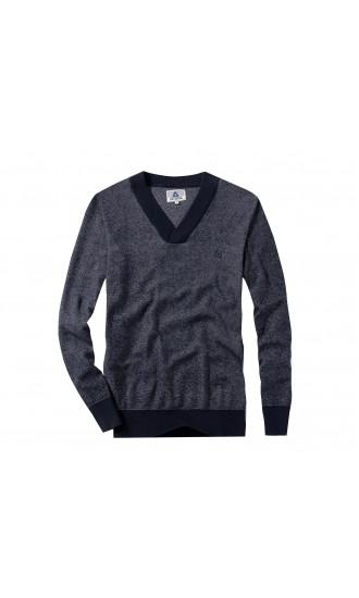 Sweter męski Nicolas Granatowy