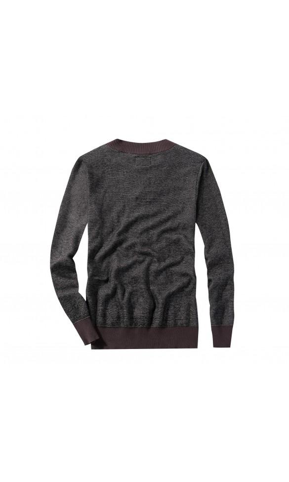 Sweter męski Nicolas Brązowy