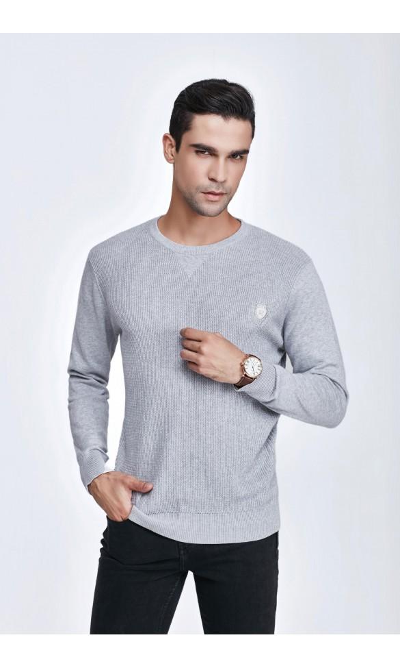 Sweter męski Bruno Szary