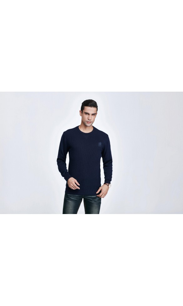 Sweter męski Bruno Granatowy