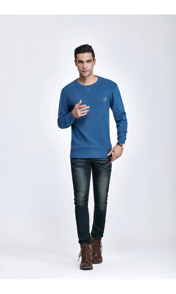 Sweter męski Bruno Niebieski