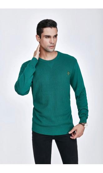 Sweter męski Bruno Zielony