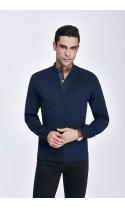 Sweter męski Darius Granatowy 2