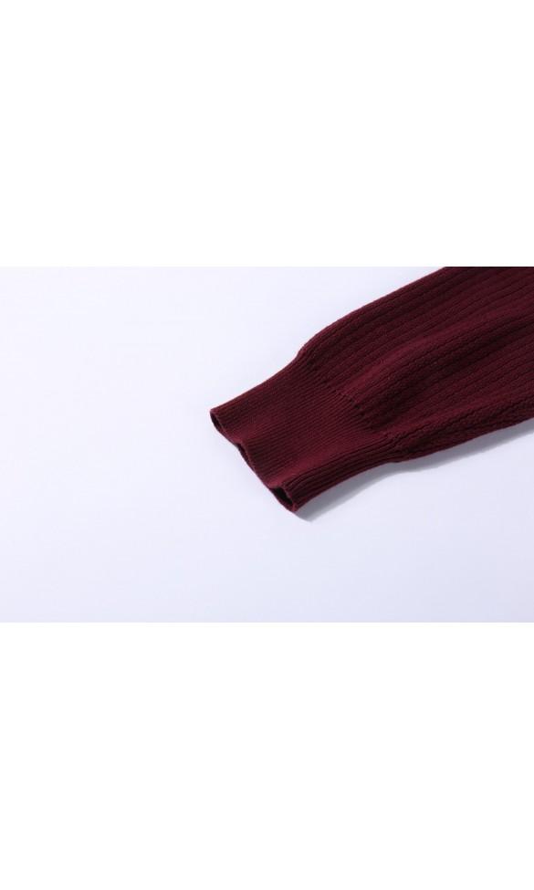 Sweter męski Darius Bordowy