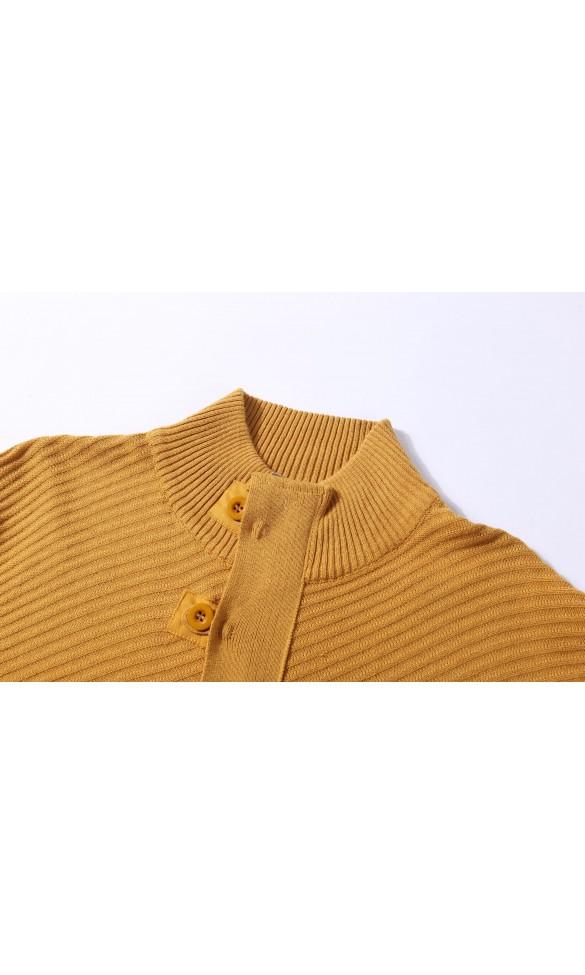 Sweter męski Enzo Karmelowy