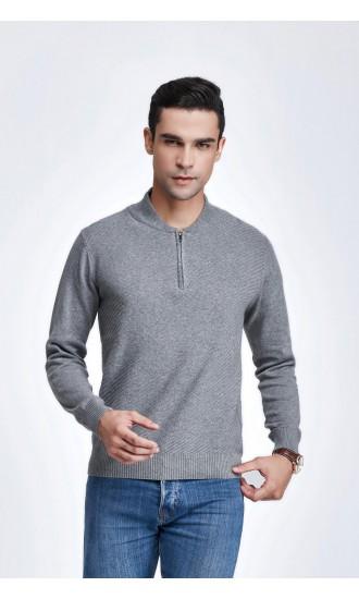 Sweter męski Gael Szary