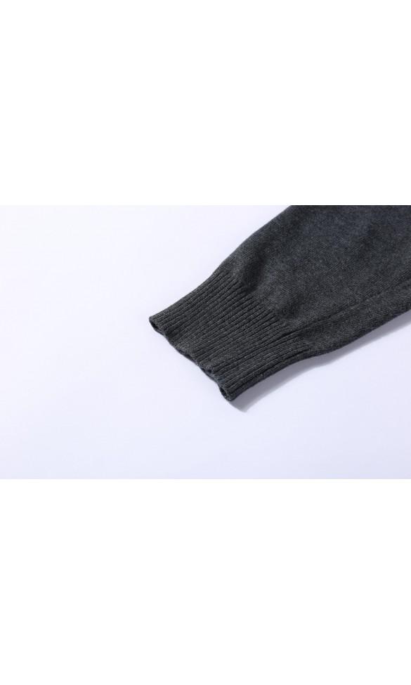 Sweter męski Gael Popielaty