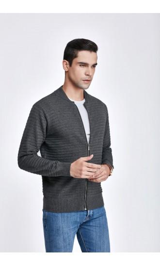 Sweter męski Igor Popielaty