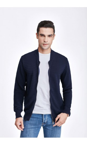 Sweter męski Igor Granatowy
