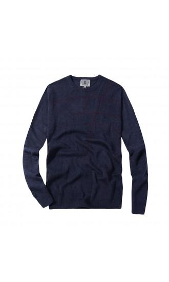 Sweter męski Leon Granatowy