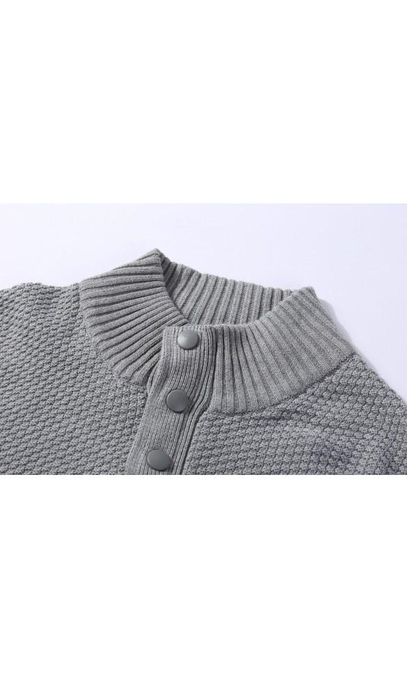 Sweter męski Max Szary