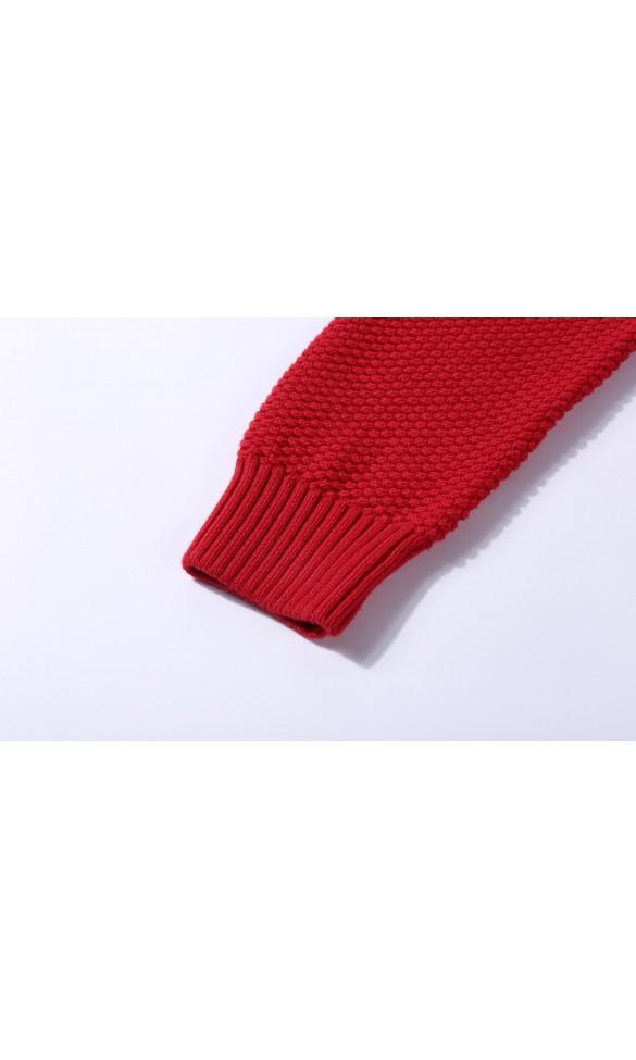 Sweter męski Max Czerwony
