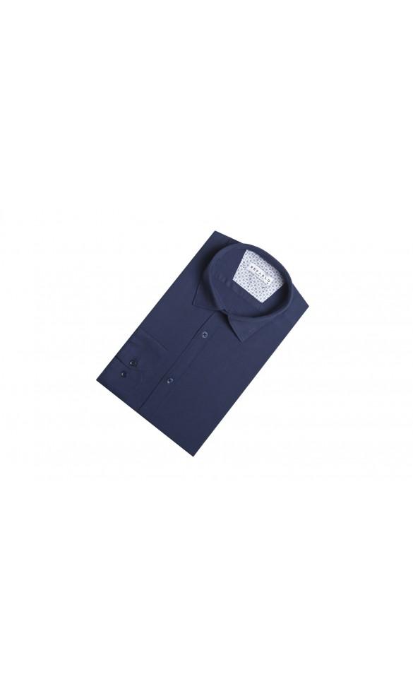 Koszula Comfort Granatowa
