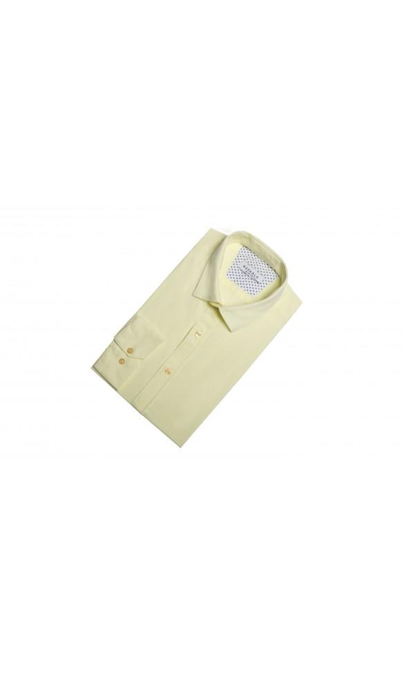 Koszula Comfort Żółta
