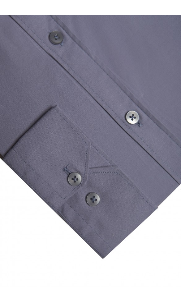 Koszula Comfort Popielata